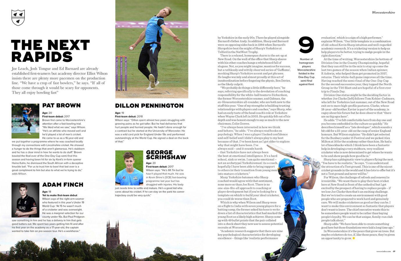 Stern Words - Wisden Cricket Monthly
